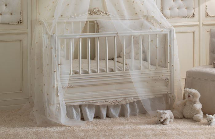 Luxury Baby Cribs Italian Handmade, Luxury Baby Furniture